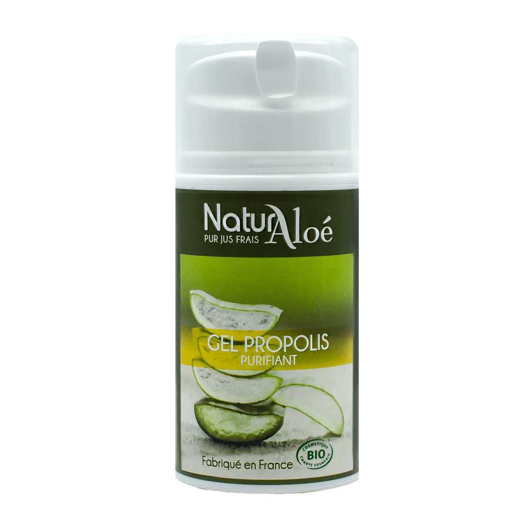NaturAloe - Gel propolis purifiant Bio