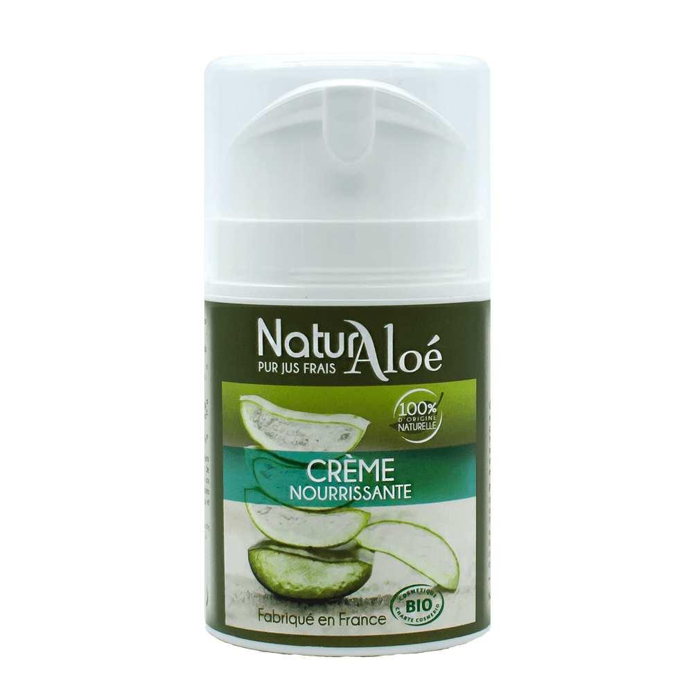 NaturAloe - Crème nourrissante Bio