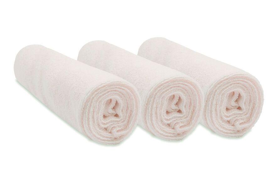 Easy Dort - Lot de 3 housses à langer en Bambou 50x70 cm extensible - Écru