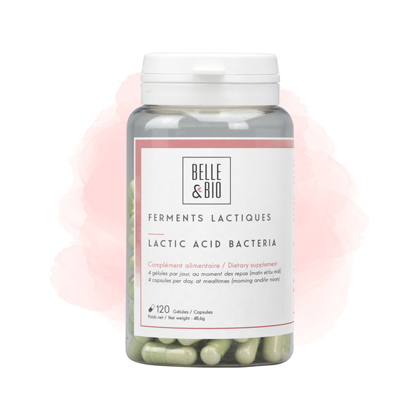 Belle & Bio - Ferments Lactiques - 120 Gelules