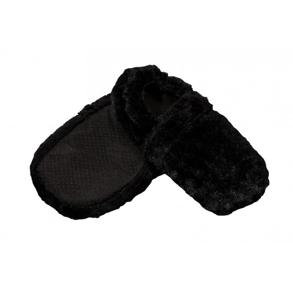 Pelucho - Chaussons chauffants Noirs-Made in France