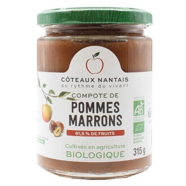 Côteaux Nantais - Compote pommes marrons 315 g