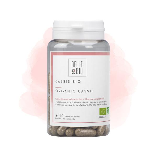 Belle & Bio - Cassis Bio -120 Gélules - Certifié AB par Ecocert