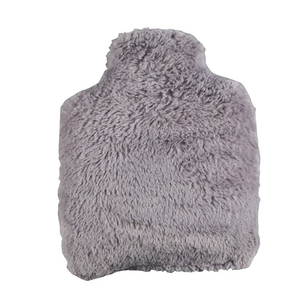 Pelucho - Bouteille Bouillotte micro-ondes Grise - Made in France