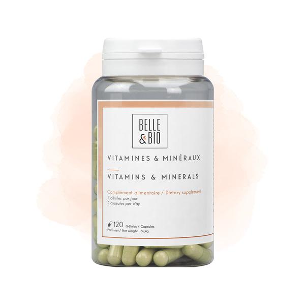 Belle & Bio - Vitamines et Minéraux - 120 Gélules
