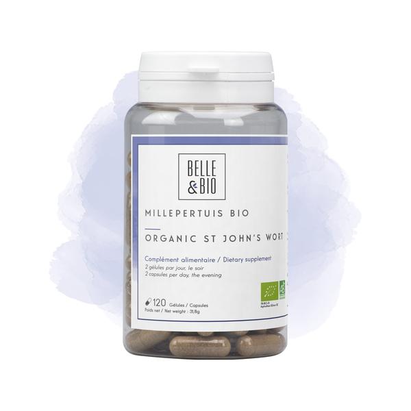 Belle & Bio - Millepertuis Bio - 120 Gelules - Certifie AB par Ecocert