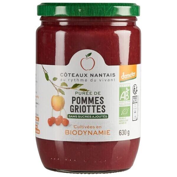 Côteaux Nantais - Purée pommes griottes 630 g