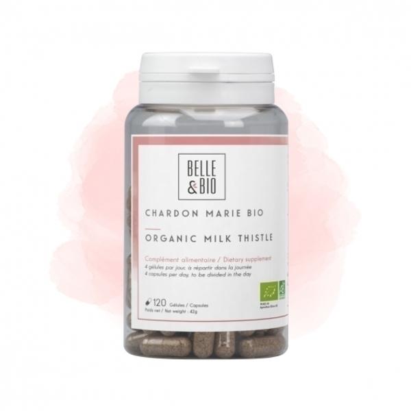 Belle & Bio - Chardon Marie Bio - 120 Gélules - Certifié AB par Ecocert