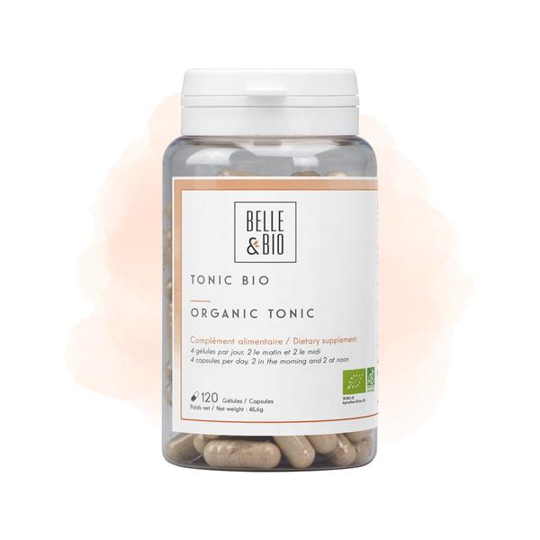 Belle & Bio - Tonic Bio - 120 Gélules - Certifié AB par Ecocert