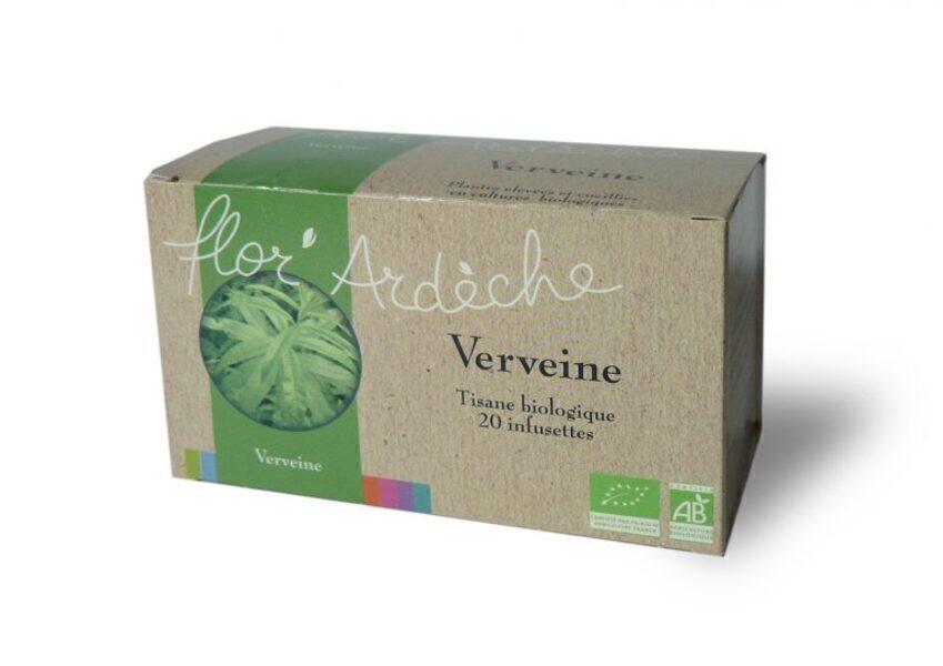 Flor'Ardèche - Infusions Verveine Bio Flor'Ardèche