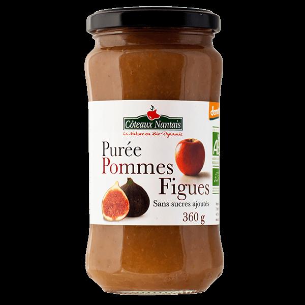 Côteaux Nantais - Purée pommes figues 360 g Demeter
