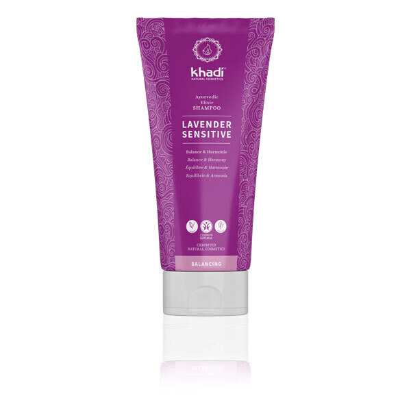 Khadi - Shampoing Lavender sensitive 200ml