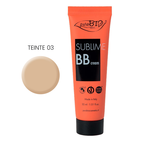 PuroBIO Cosmetics - BB crème Sublime 03 30ml