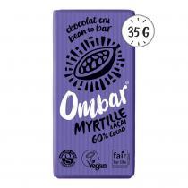 Ombar - Chocolat Cru Myrtille - Acai 35g Bio
