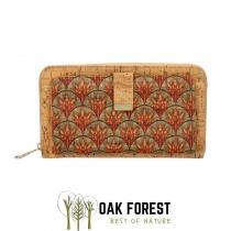 """OAK Forest - Pochette - Trousse en liège artisanal """"Comme un poisson"""""""