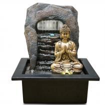 Zen' Light - Fontaine d'Intérieur Déco Zen Dao avec Eclairage Led