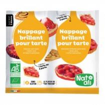 Natali - Nappage brillant pour tartes 2x10g bio