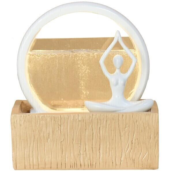 Zen' Light - Fontaine Moderne d'Intérieur avec Eclairage Led Vitality
