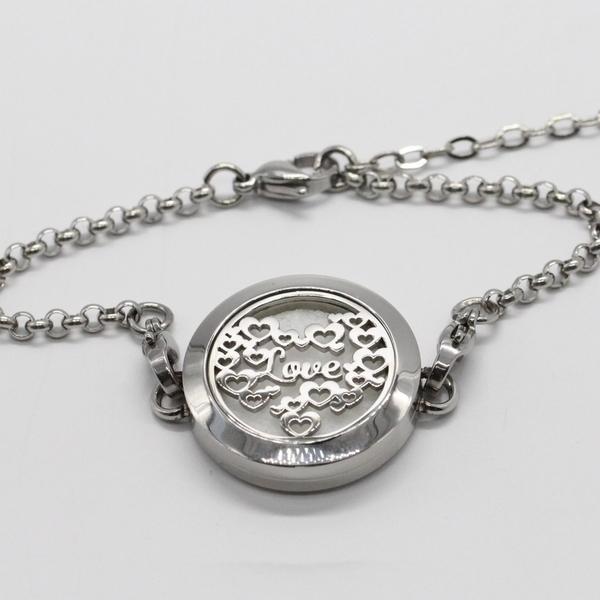 Zen' Arôme - Bracelet d'Aromathérapie Love