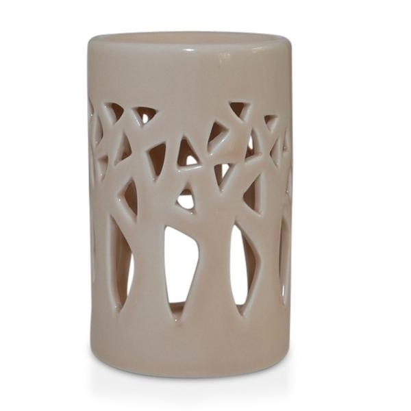 Zen' Arôme - Brûle Parfum en Céramique Forêt Beige
