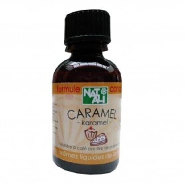 Natali - Arôme naturel caramel 30ml bio