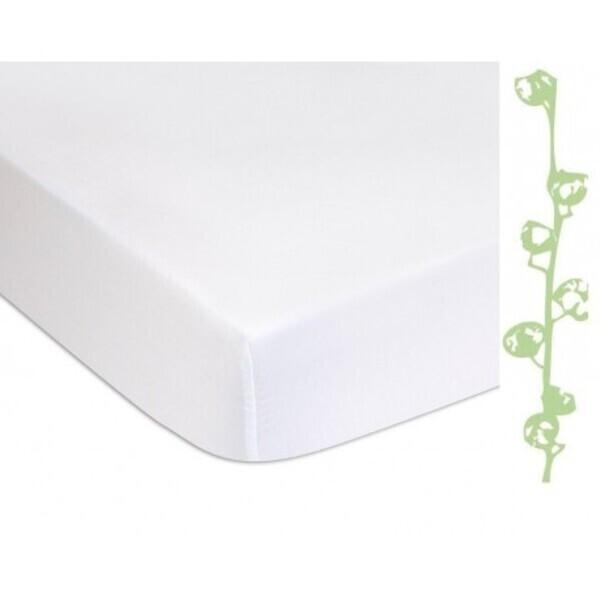 Easy Dort - Lot de 2 Alèses éponge Coton Bio + PU imperméable - 40x80 cm