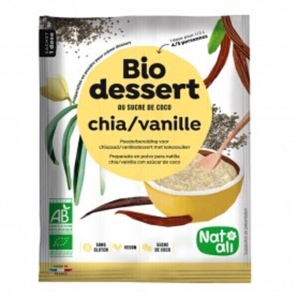 Natali - Préparation pour crème chia-vanille 60gr bio