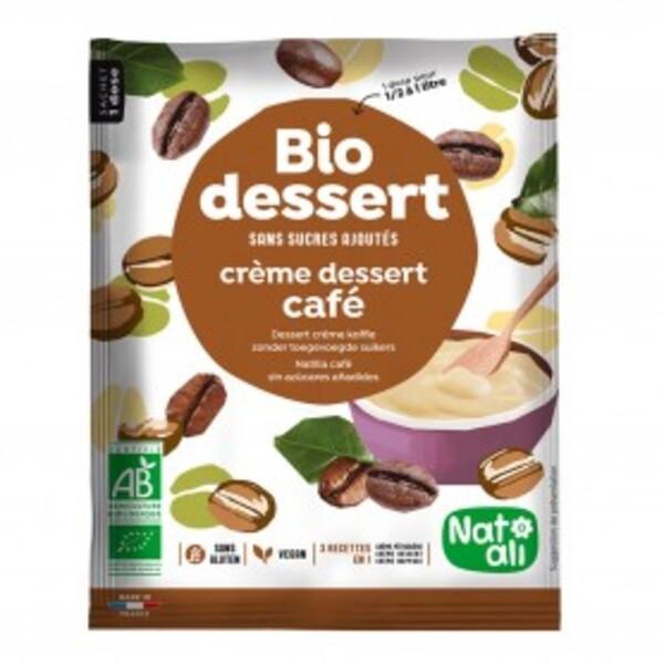 Natali - Biocrème café sans sucres ajoutés 1l bio