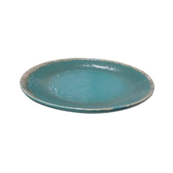 Esprit Cuistot - Assiette plate Provence Orage en céramique (par 4)