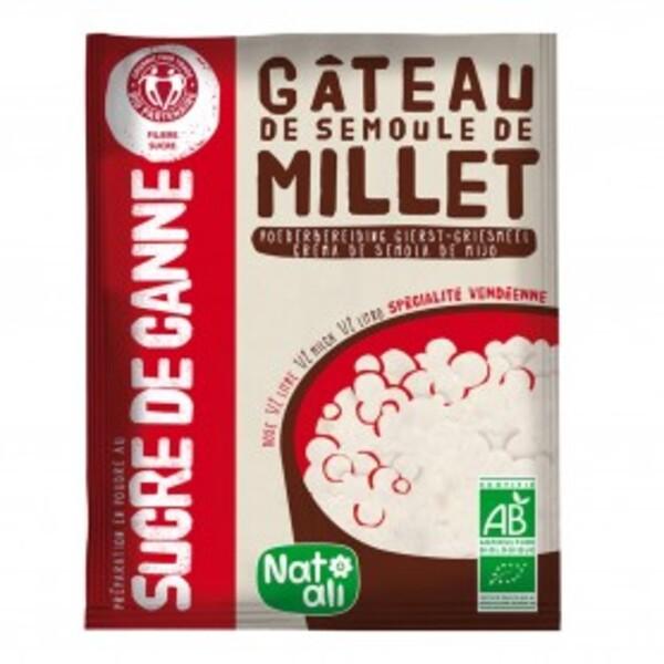 Natali - Préparation pour gâteau semoule de millet 70g bio