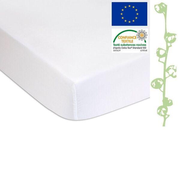 Easy Dort - Lot de 2 Alèses éponge Coton Bio + PU imperméable - 70x140 cm