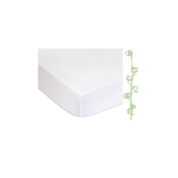 Easy Dort - Lot de 2 Alèses éponge Coton Bio + PU imperméable - 60x120 cm