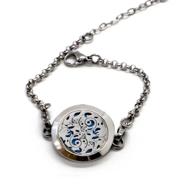 Zen' Arôme - Bracelet d'Aromathérapie Forêt Enchantée
