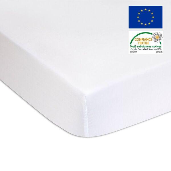 Easy Dort - Lot de 2 Alèses Molleton Coton + PU imperméable - 60x120 cm