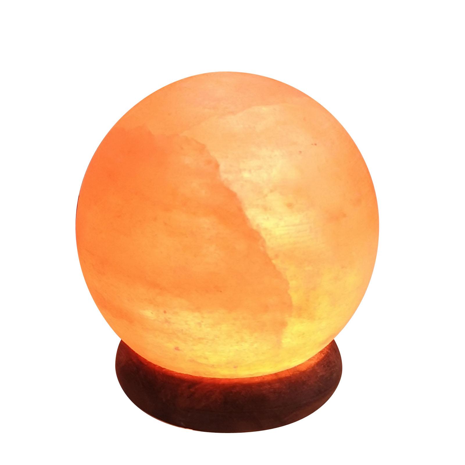 Zen' Arôme - Lampe USB en Cristal de Sel d'Himalaya Sphère