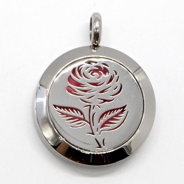 Zen' Arôme - Collier d'Aromathérapie Soli Rose
