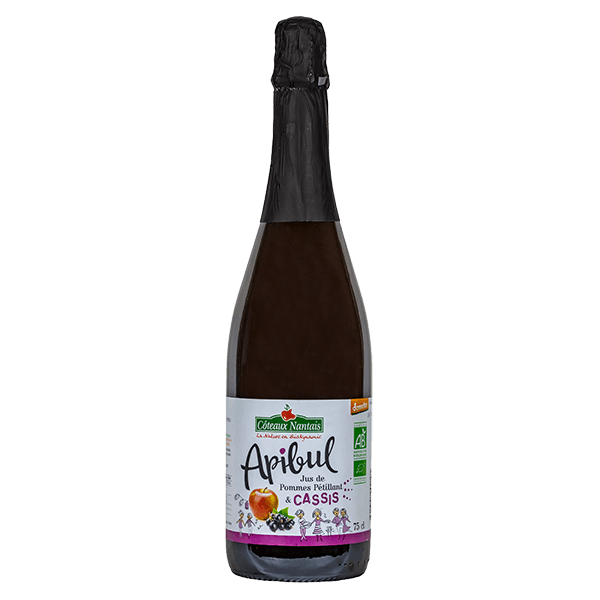 Côteaux Nantais - Apibul pommes cassis 75 cl Demeter