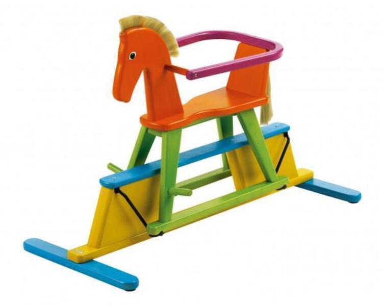 Geuther - Cheval à bascule coloré Swingly Stern