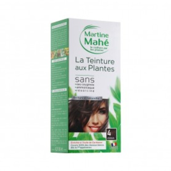 Martine Mahé - Teinture n°4 Châtain 125ml