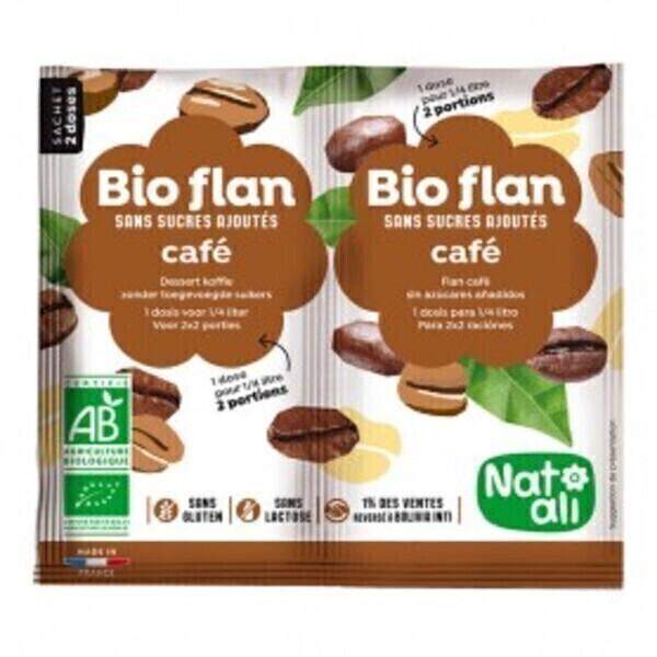 Natali - Bioflan café sans sucres ajoutés 10g bio