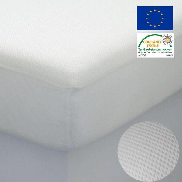 Easy Dort - Protège matelas alèse 60x120 Berceau Respirante maille 3D