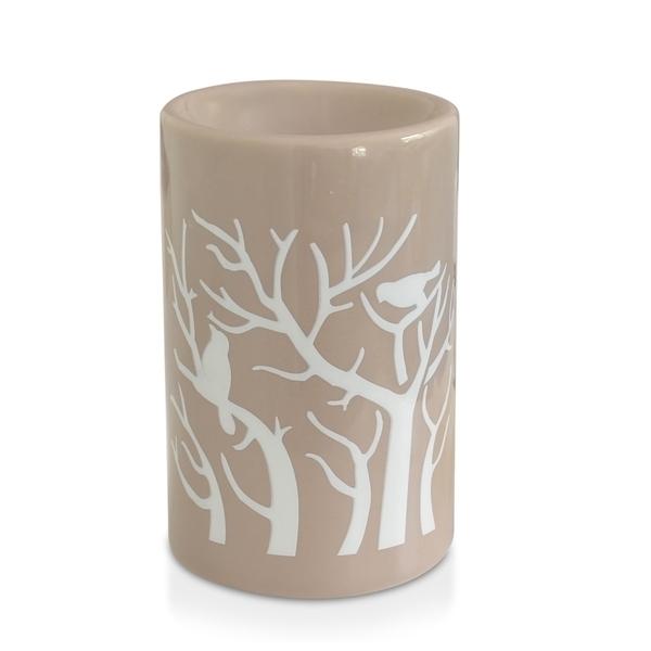 Zen' Arôme - Brûle Parfum en Céramique Treebee Gris