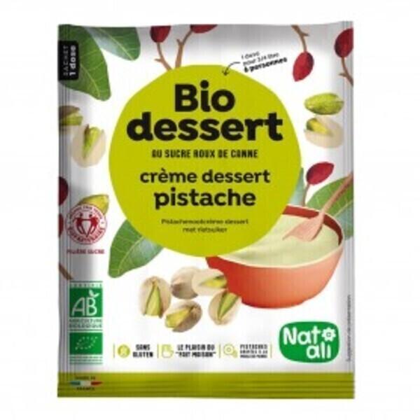 Natali - Préparation pour crème pistache 60g bio