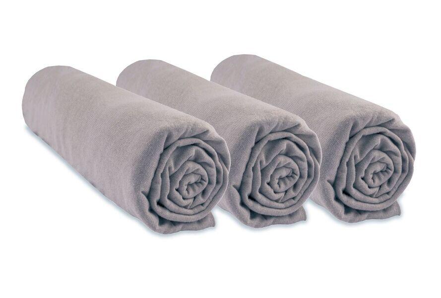 Easy Dort - Lot de 3 Draps housse 100% Coton Bio pour couffin 32x72 cm