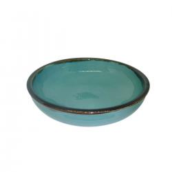 Esprit Cuistot - Assiette individuelle en céramique Provence 17 cm (par 4)