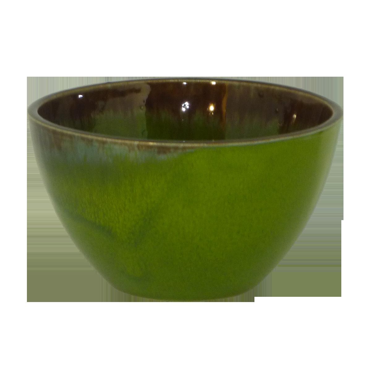 Esprit Cuistot - Bol céramique Vert Provence 10 cm (par 4)