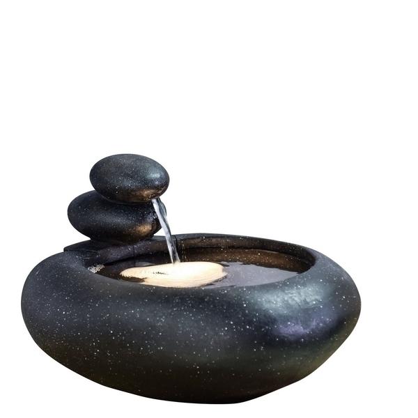 Zen' Light - Fontaine Moderne d'Intérieur avec Eclairage Led Yashi