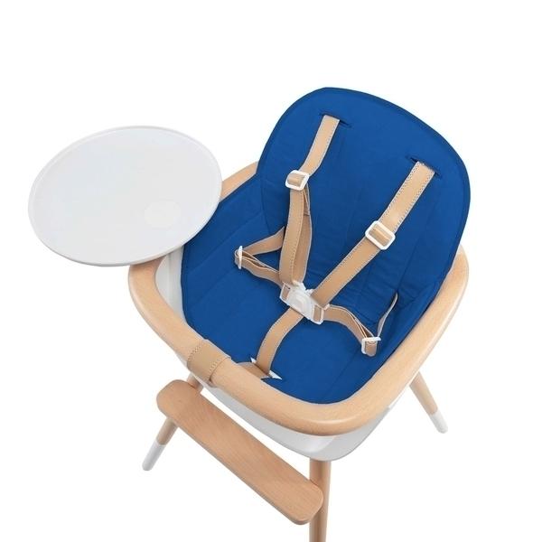 Micuna - Coussin bleu pour chaise haute Ovo