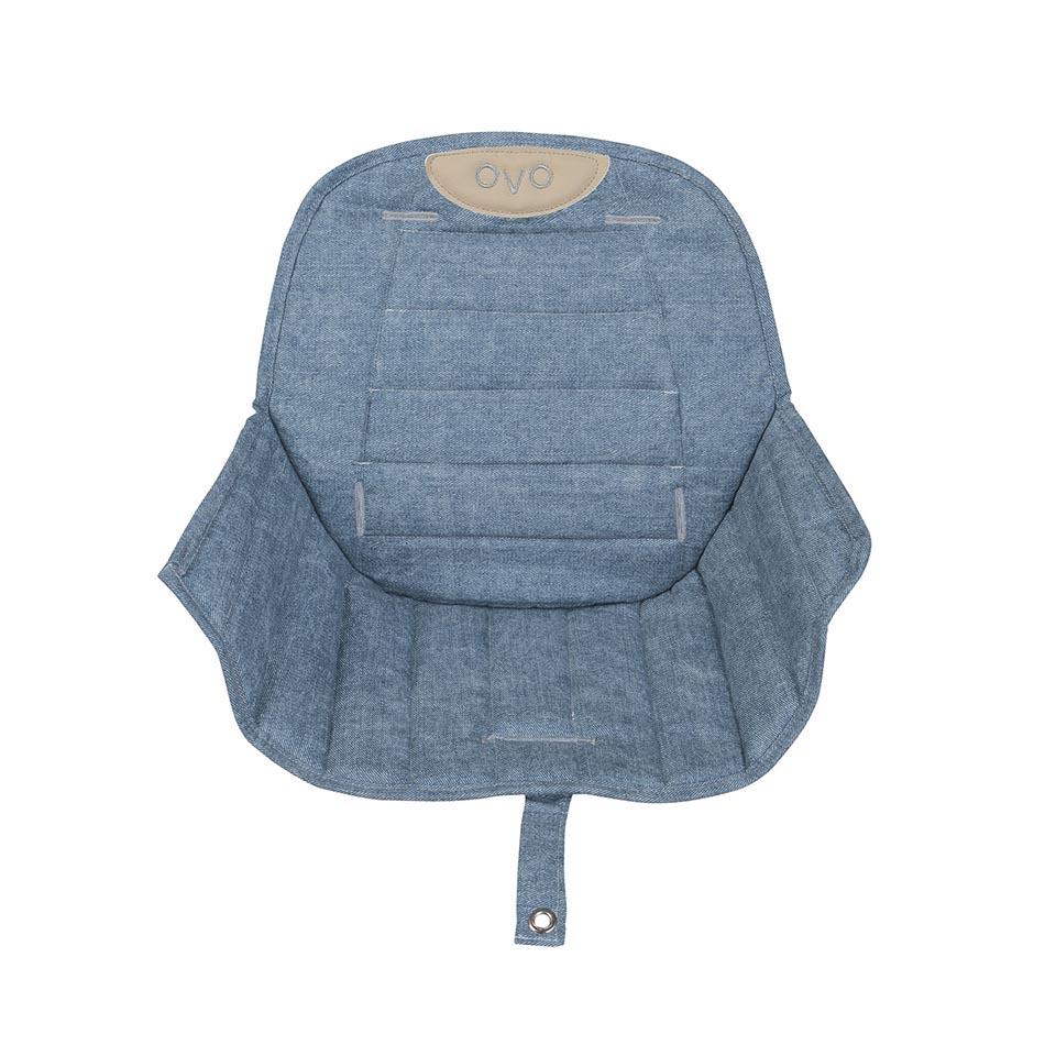 Micuna - Coussin jean pour chaise haute Ovo