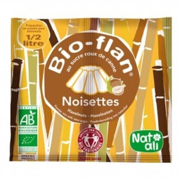 Natali - Bioflan entremet noisette 0,5l 40g bio